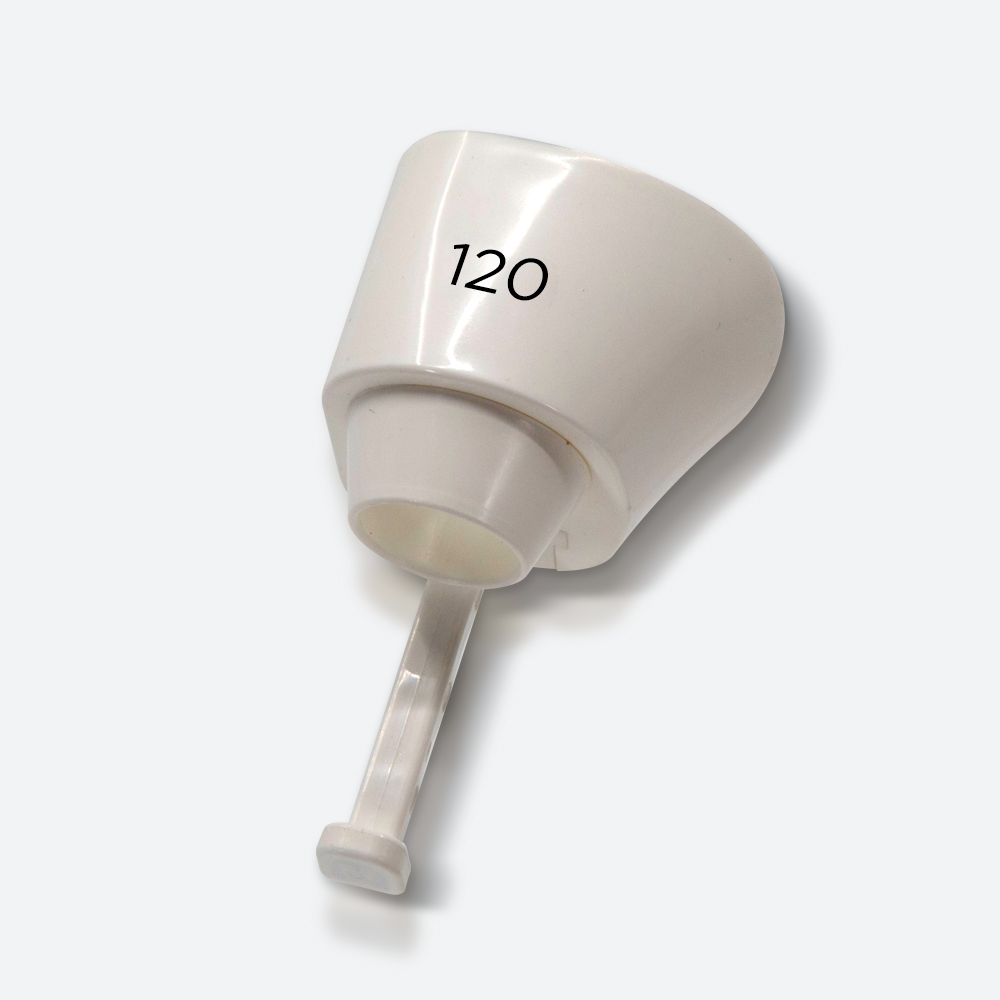 120μm white tip - eCO2