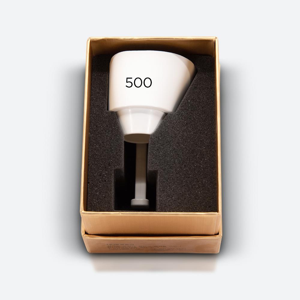 500μm white tip - eCO2